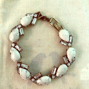 Aventine Howlite Bracelet